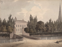 View of the Moat House in Birmingham